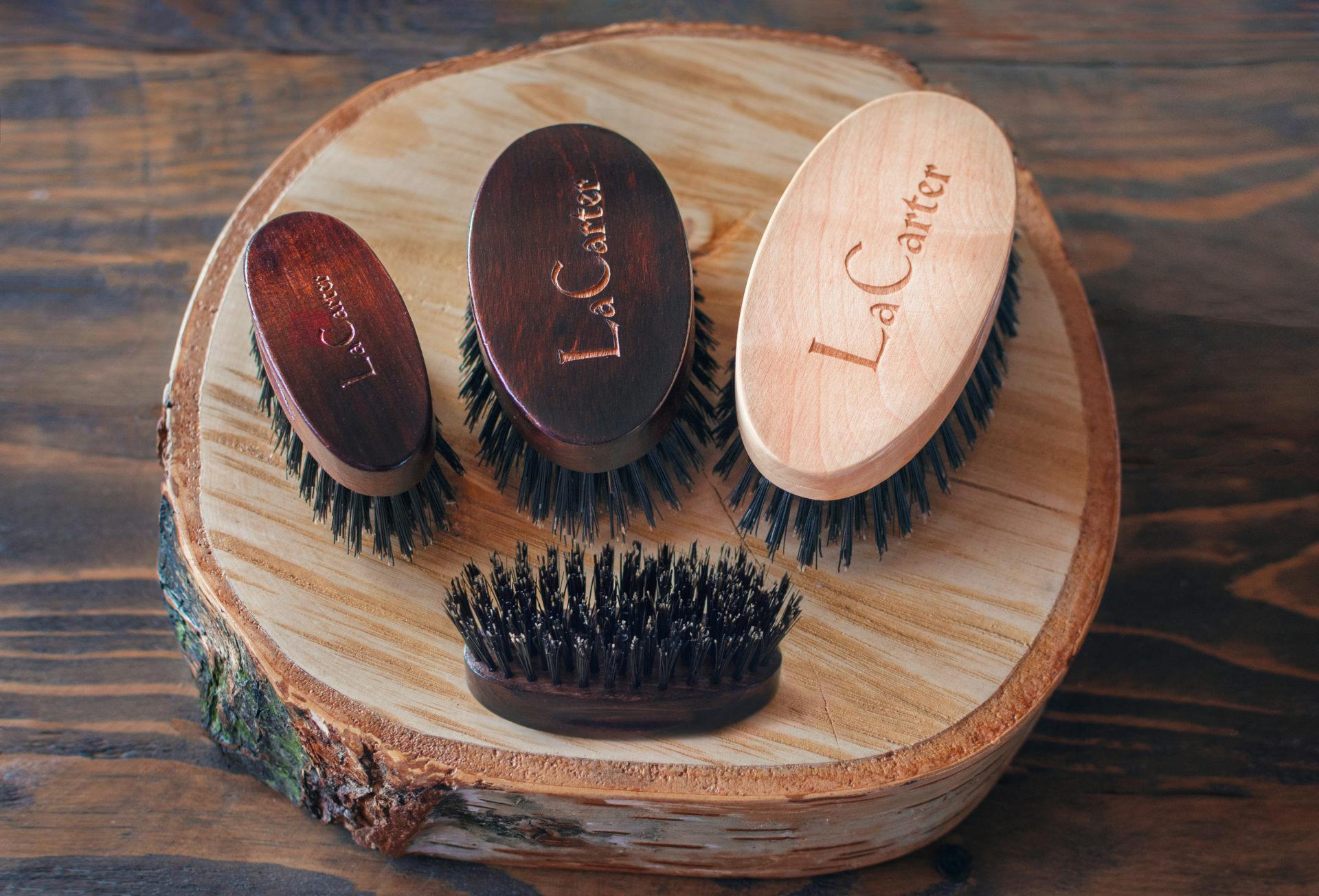 Kartacze do brody (szczotki do brody) LaCarter