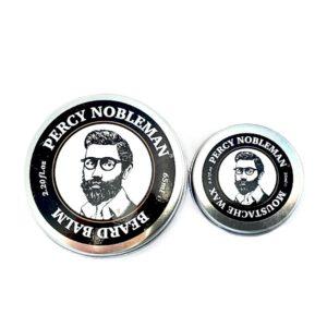 Zestaw Percy Nobleman Balm & Wax