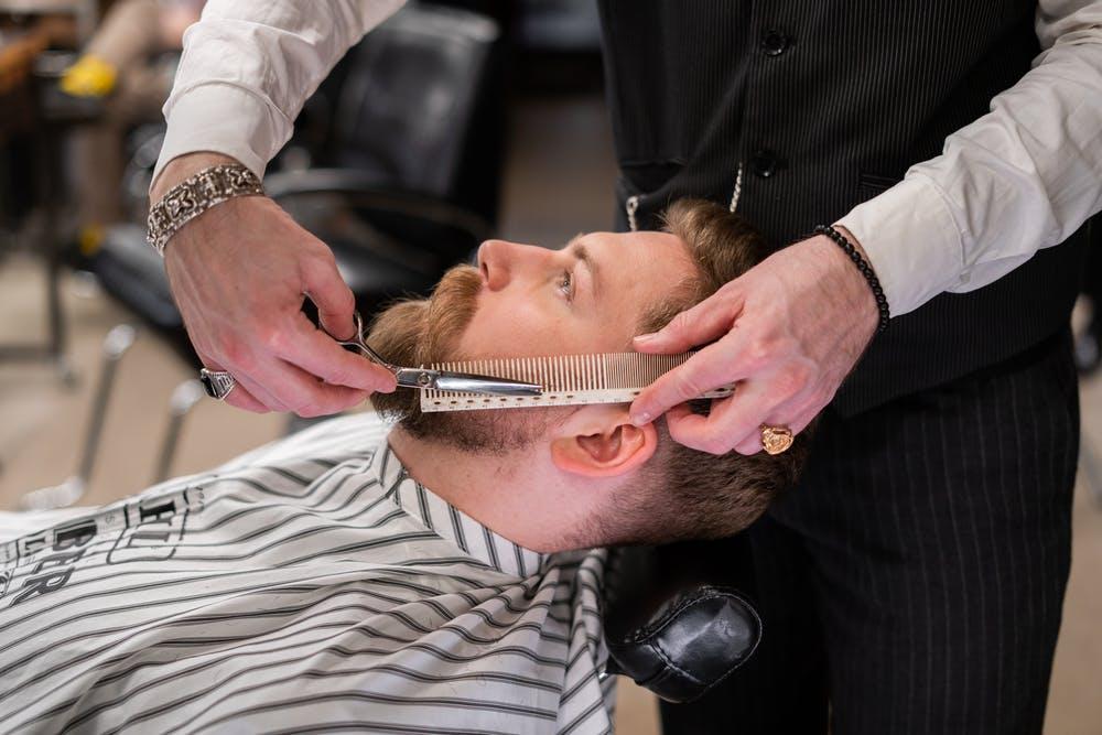 przycinanie brody